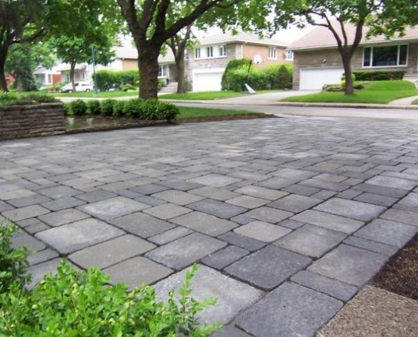 paving stones Driveway - Uni stones Mega Bergerac