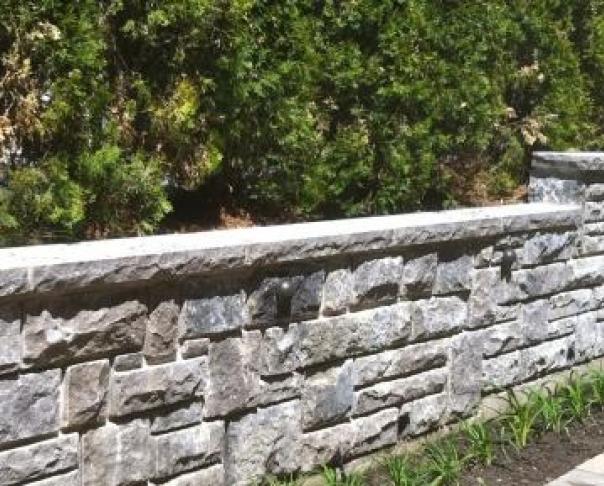 """Mur de pierre """"Saint-Marc"""" - Mur de pierre """"Saint-Marc"""" à Westmount"""
