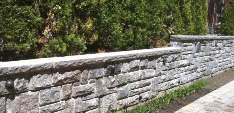 mur de pierre saint marc le paysagiste montr al. Black Bedroom Furniture Sets. Home Design Ideas